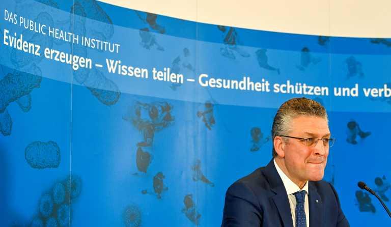 Γερμανία -  Ινστιτούτο «Ρόμπερτ Κοχ»: Θα έχουμε θέσει υπό έλεγχο την πανδημία ως το τέλος του έτους