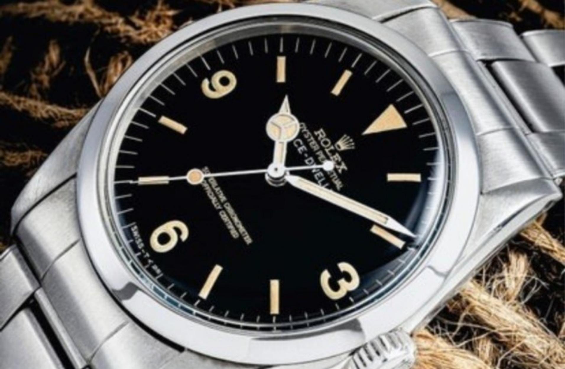 Ένα από τα πιο σπάνια και περιζήτητα ρολόγια της Rolex