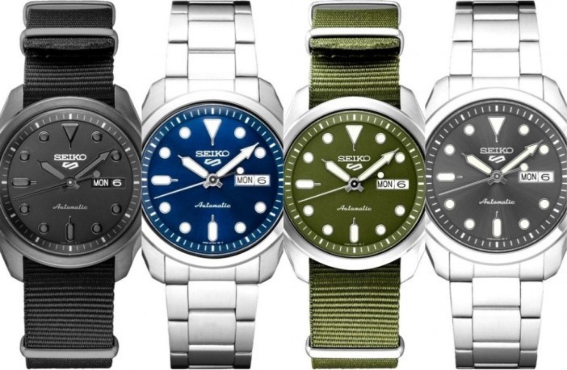 Τα νέα Seiko 5 Sports είναι ιδανικά για σένα που ψάχνεις ένα προσιτό και αξιόπιστο ρολόι