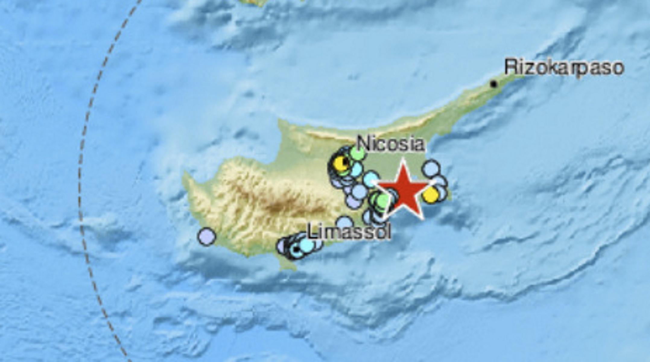 Δυνατός σεισμός 4,9 Ρίχτερ ταρακούνησε την Κύπρο - Η στιγμή που «χτύπησε» ο Εγκέλαδος (video)