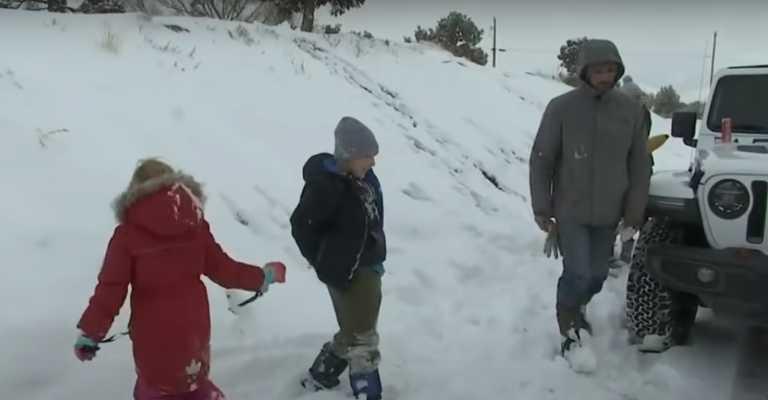 Κι όμως… χιόνια στις συνήθως ηλιόλουστες Αριζόνα, Νεβάδα και Καλιφόρνια (video)