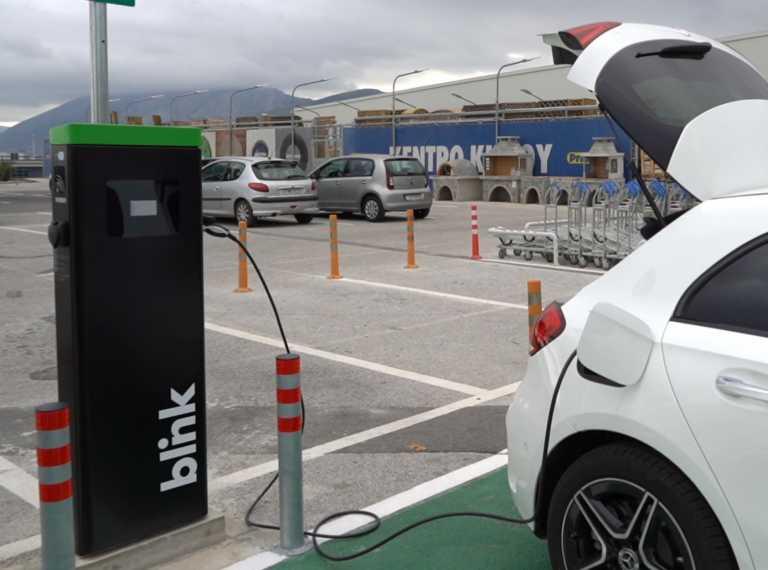 Συνεργασία Blink Charging Hellas, Globalsat και Praktiker Hellas στην ηλεκτροκίνηση