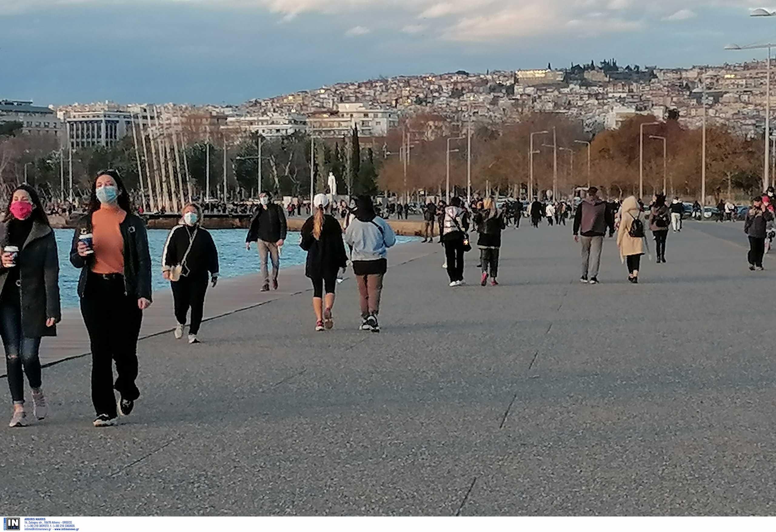 Θεσσαλονίκη: Κοσμοσυρροή σε νέα παραλία και πλατεία Αριστοτέλους