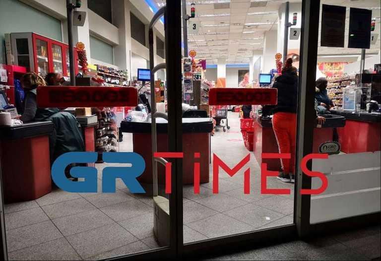 Τρόμος στη Θεσσαλονίκη: Ληστές μπήκαν με καραμπίνα σε σούπερ μάρκετ