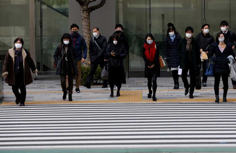 Ιαπωνία: Ακόμα και ποινές φυλάκισης για όσους δεν τηρούν τα μέτρα κατά του κορονοϊού