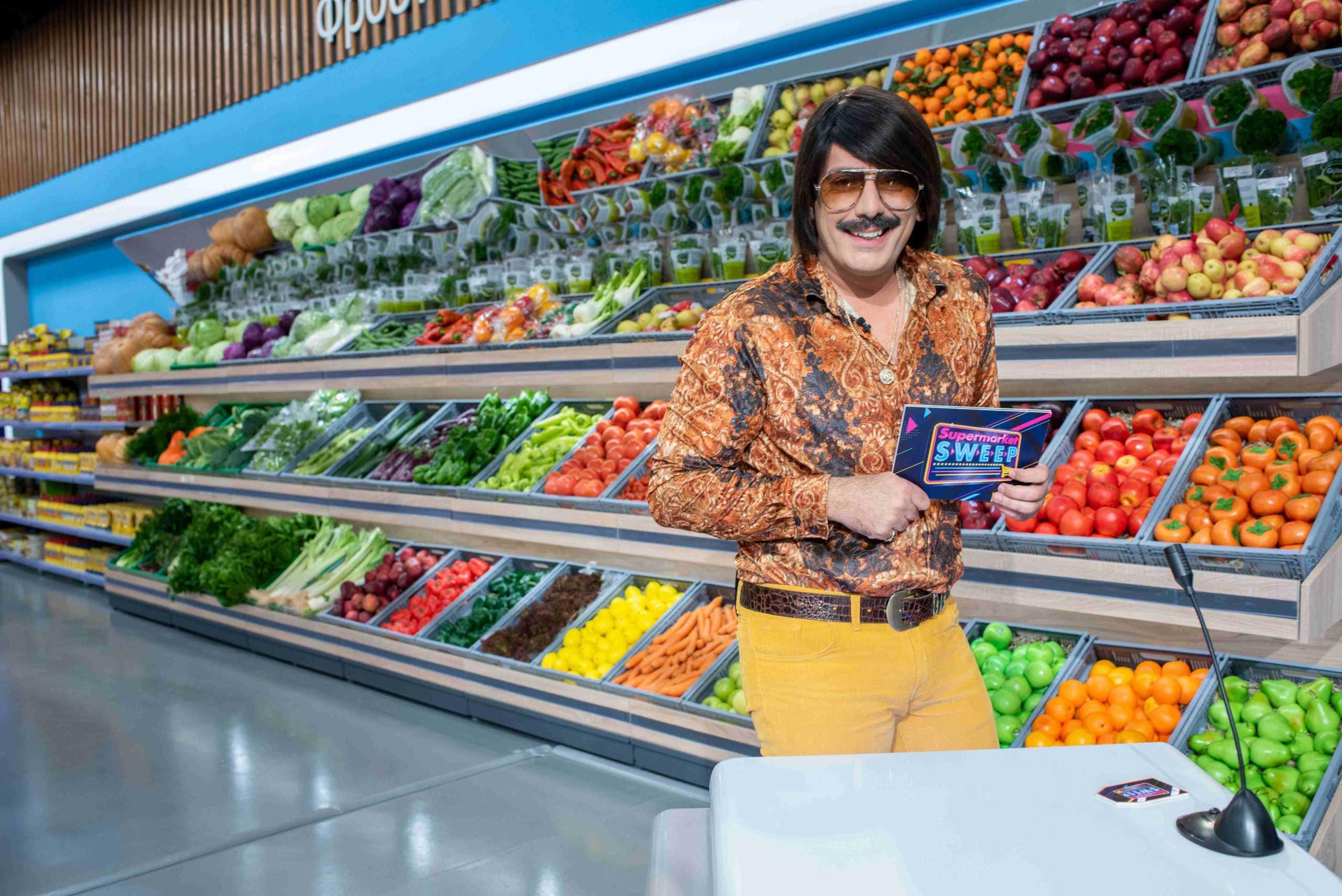 Ο Tonis Sfinos ανοίγει καθημερινά το Supermarket