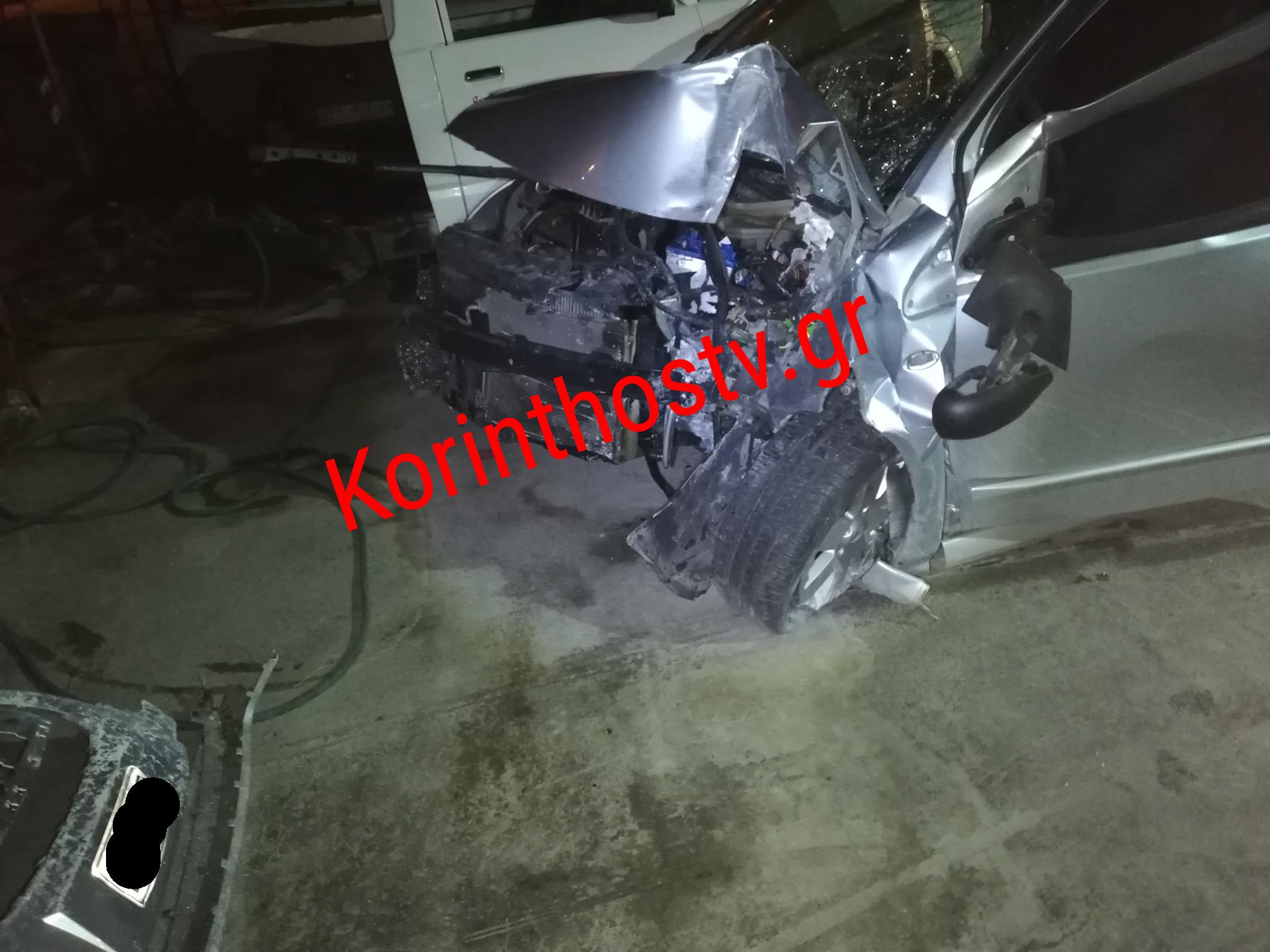 Κόρινθος: Θλίψη για 30χρονη οδηγό που σκοτώθηκε σε τροχαίο – Διαλύθηκε το μοιραίο αυτοκίνητο (pic)