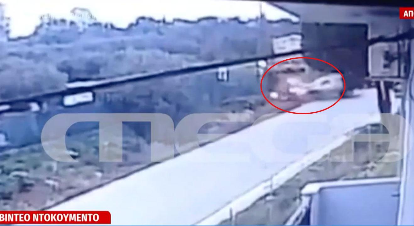 Κρήτη: Ανατριχιαστικό ντοκουμέντο από το τροχαίο όπου σκοτώθηκαν μητέρα και κόρη (video)