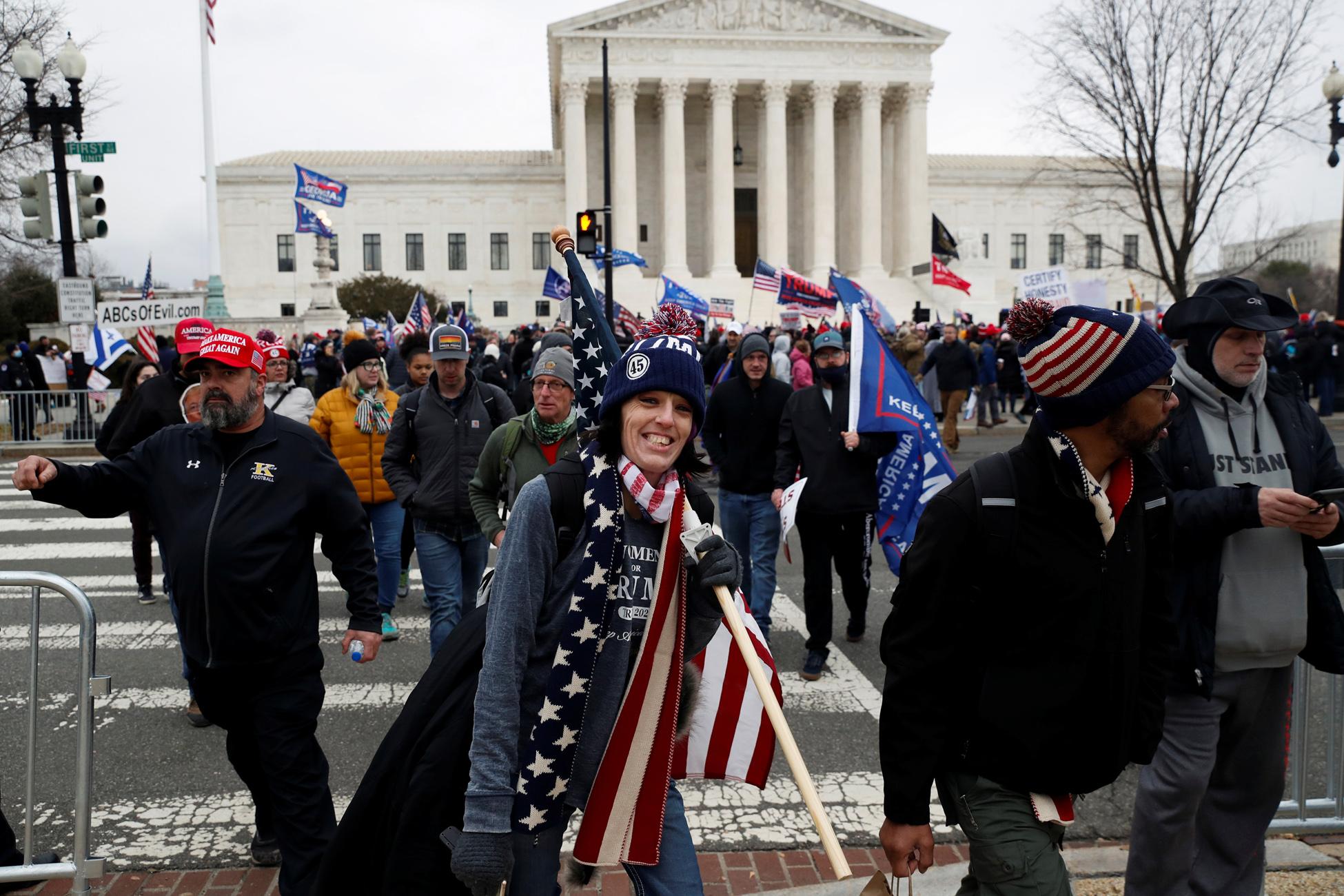 Τραμπ: Χιλιάδες υποστηρικτές του θα διαδηλώσουν στην Ουάσιγκτον για νοθεία στις εκλογές