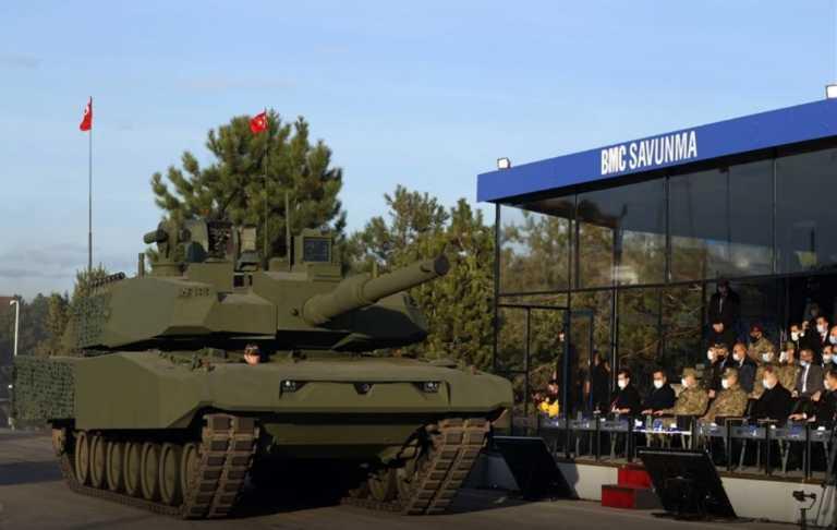 Τουρκία: «Πειραματίζεται» με ένα άρμα μάχης που συνδυάζει το Leopard 2A4 με το Altay [vid]
