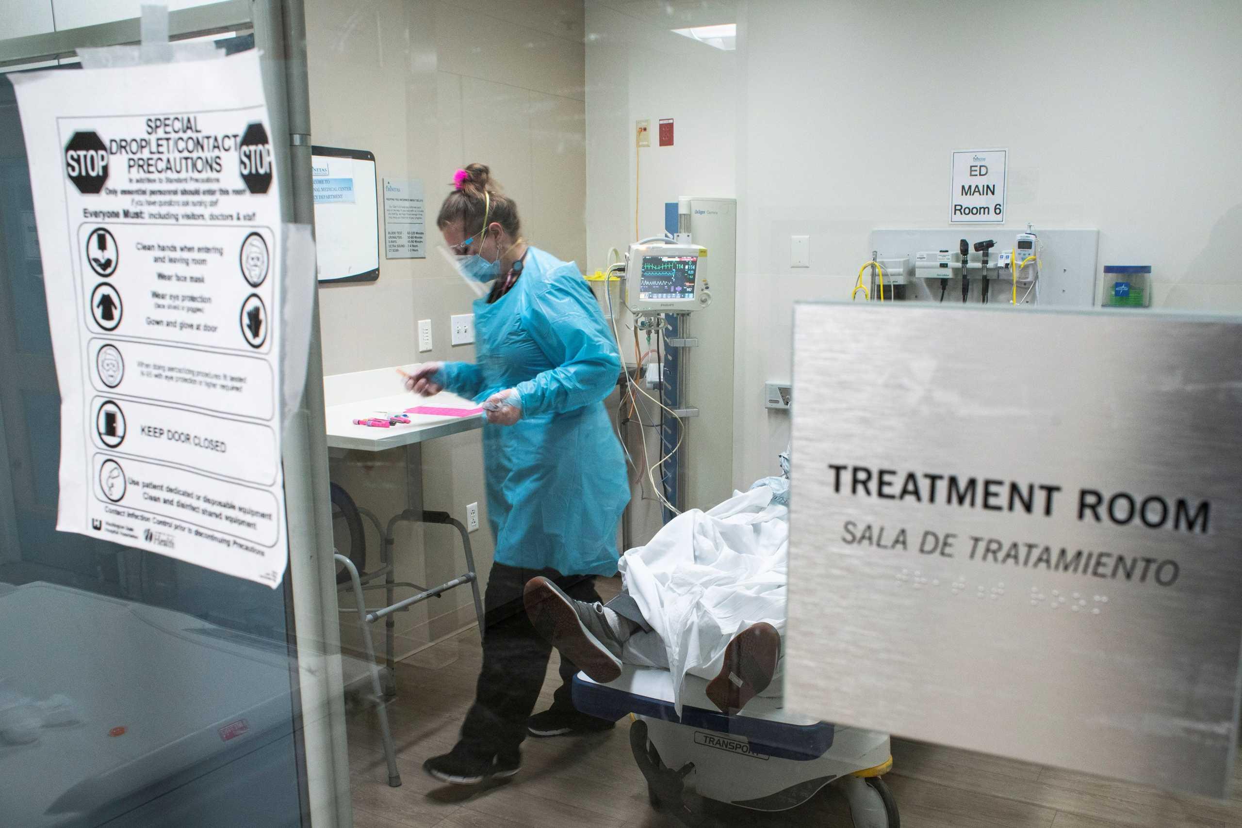 ΗΠΑ: Απολύθηκαν ή παραιτήθηκαν 150 εργαζόμενοι νοσοκομείου στο Τέξας που αρνήθηκαν να εμβολιαστούν