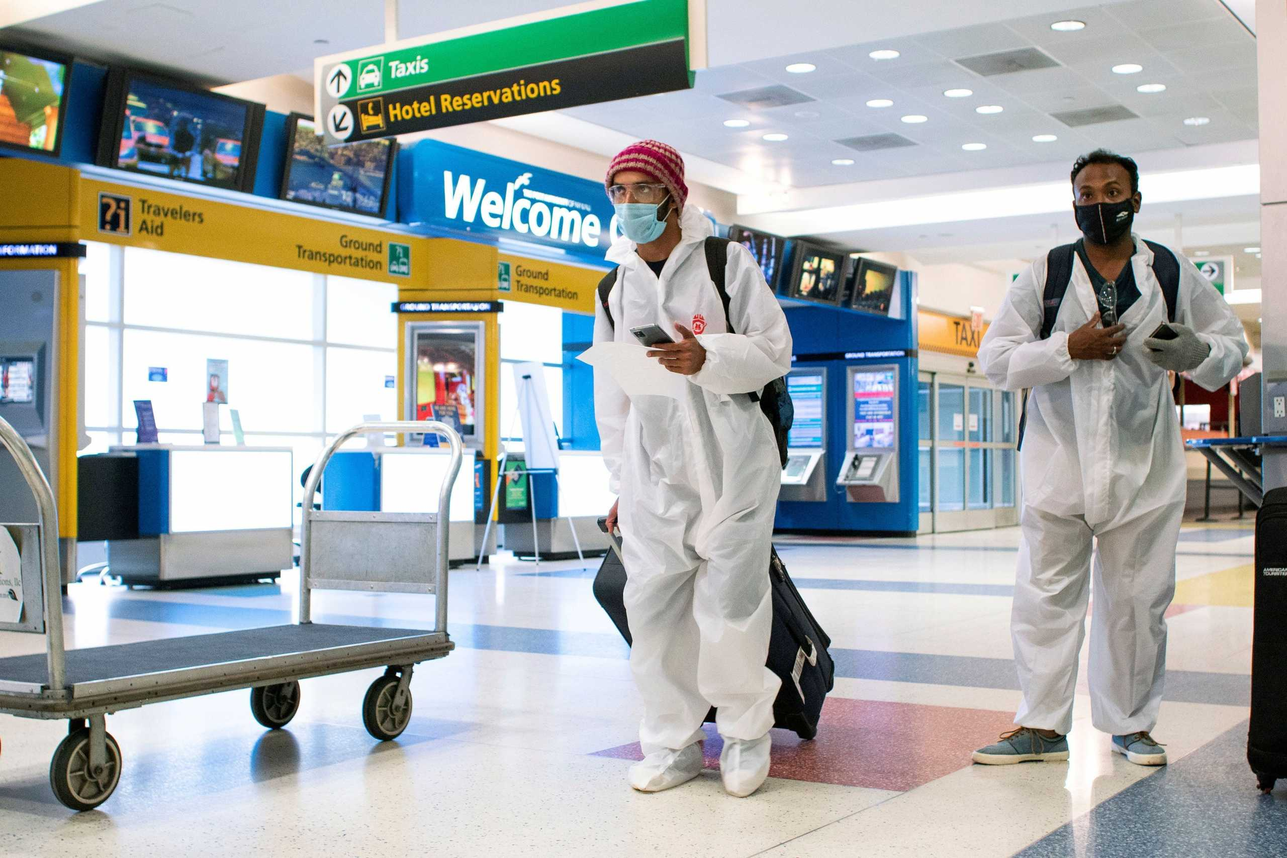 ΗΠΑ: Μόνο με αρνητικό τεστ κορονοϊού η είσοδος στη χώρααπό 26 Ιανουαρίου