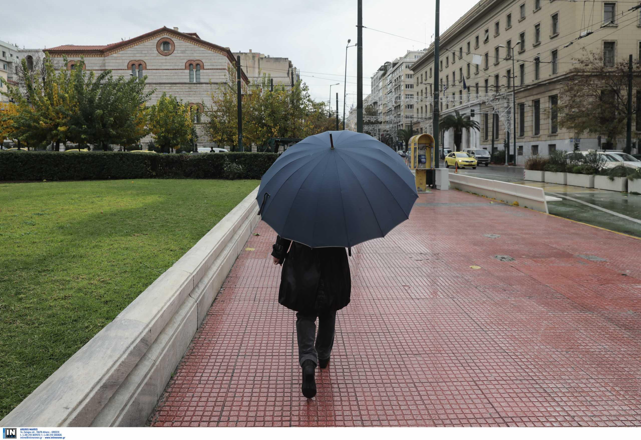 Καιρός αύριο: Τοπικές βροχές και μικρή πτώση της θερμοκρασίας