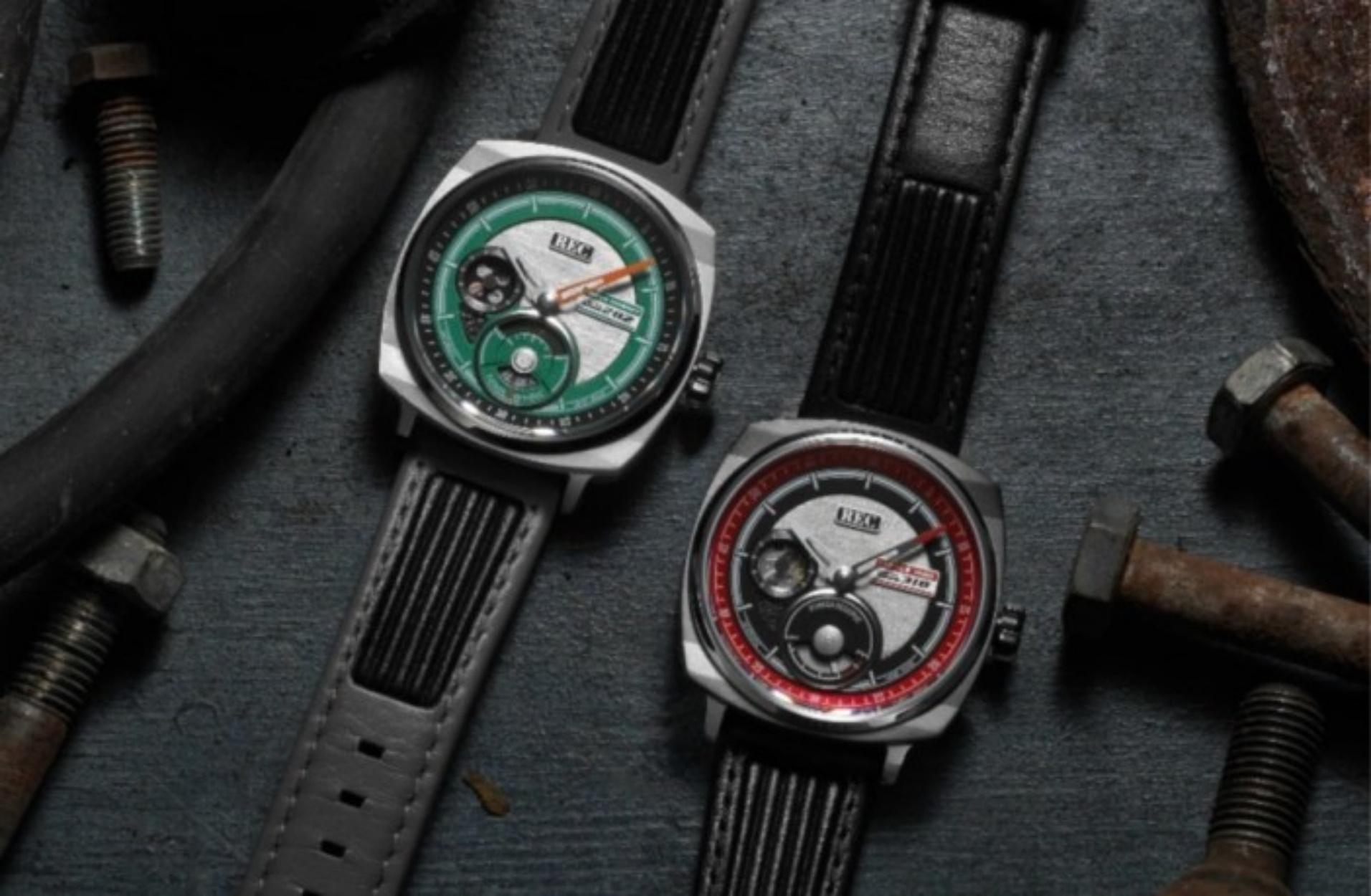 Δύο πανέμορφα ρολόγια με κομμάτια από δύο σπάνιες Ford Shelby