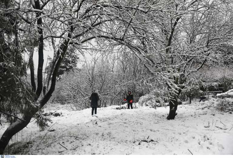 Καιρός – Meteo: Χιόνια και στην Αττική από το τρίτο χτύπημα της κακοκαιρίας «Λέανδρος»