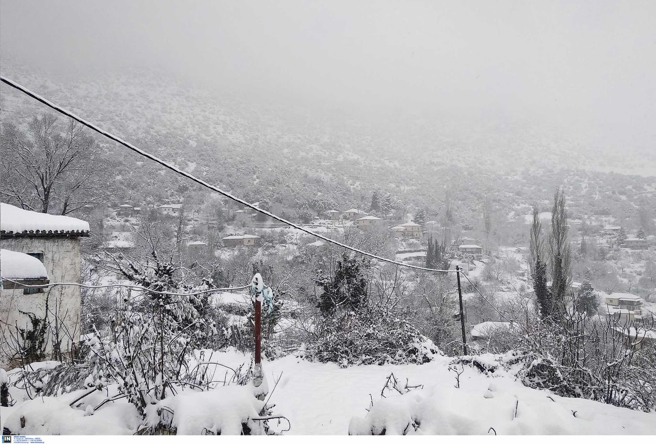 Καιρός – κακοκαιρία Μήδεια: 48 ώρες στον πάγο η Αττική – Πού και πότε θα χιονίσει