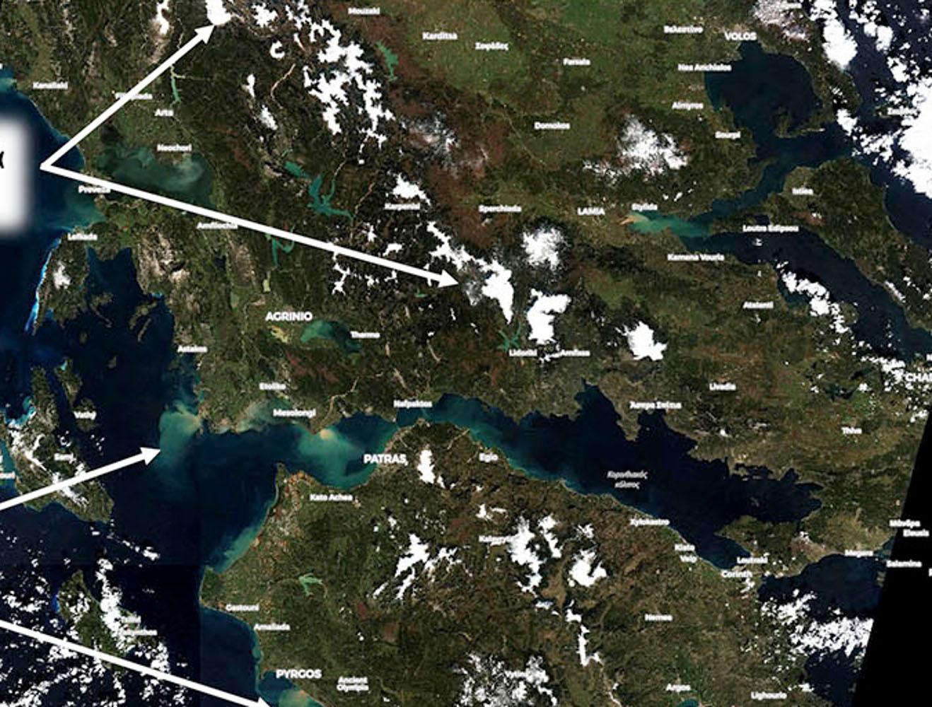 Κακοκαιρία Λέανδρος: Μόλις το 6% της Ελλάδας κάλυψαν τα χιόνια