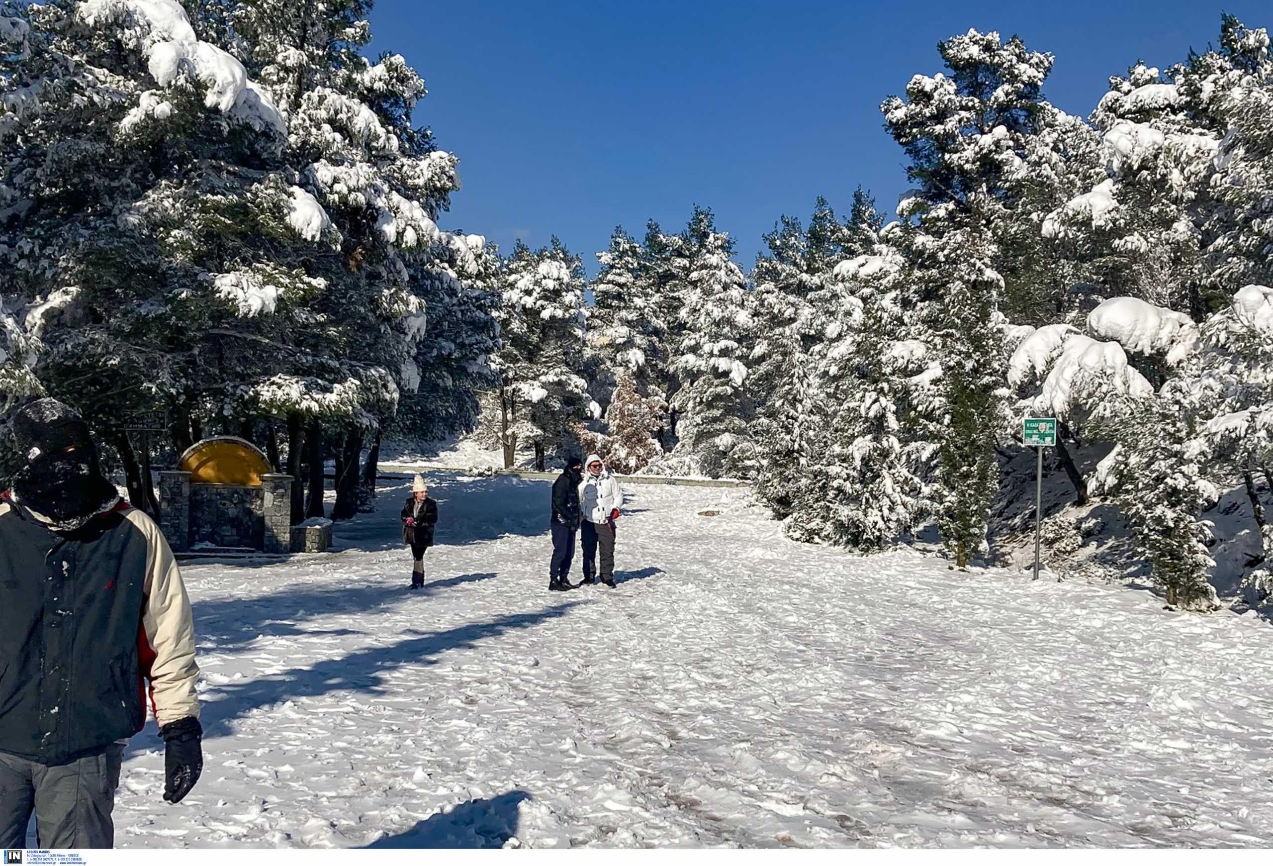 Καιρός αύριο: Στο ψυγείο όλη η χώρα με χιόνια ακόμα και στα πεδινά