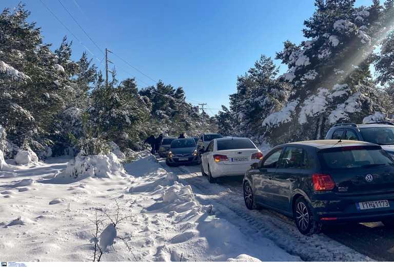 Καιρός σήμερα: Χιόνια και ψύχος – Αναλυτική πρόγνωση