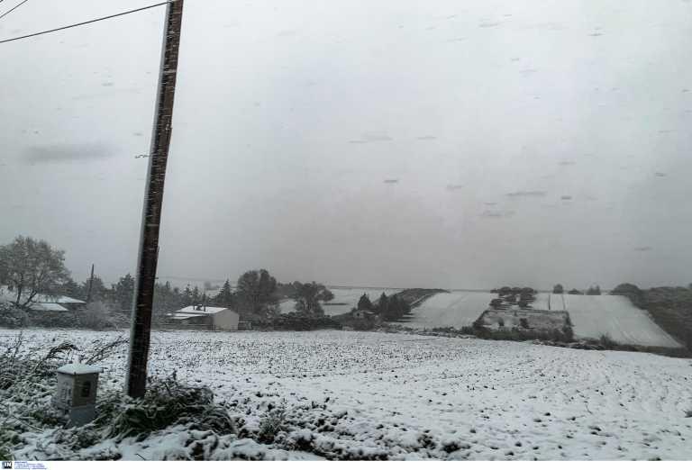 Κεντρική Μακεδονία: Σταμάτησε η χιονόπτωση στις περισσότερες περιοχές – Πού υπάρχουν προβλήματα