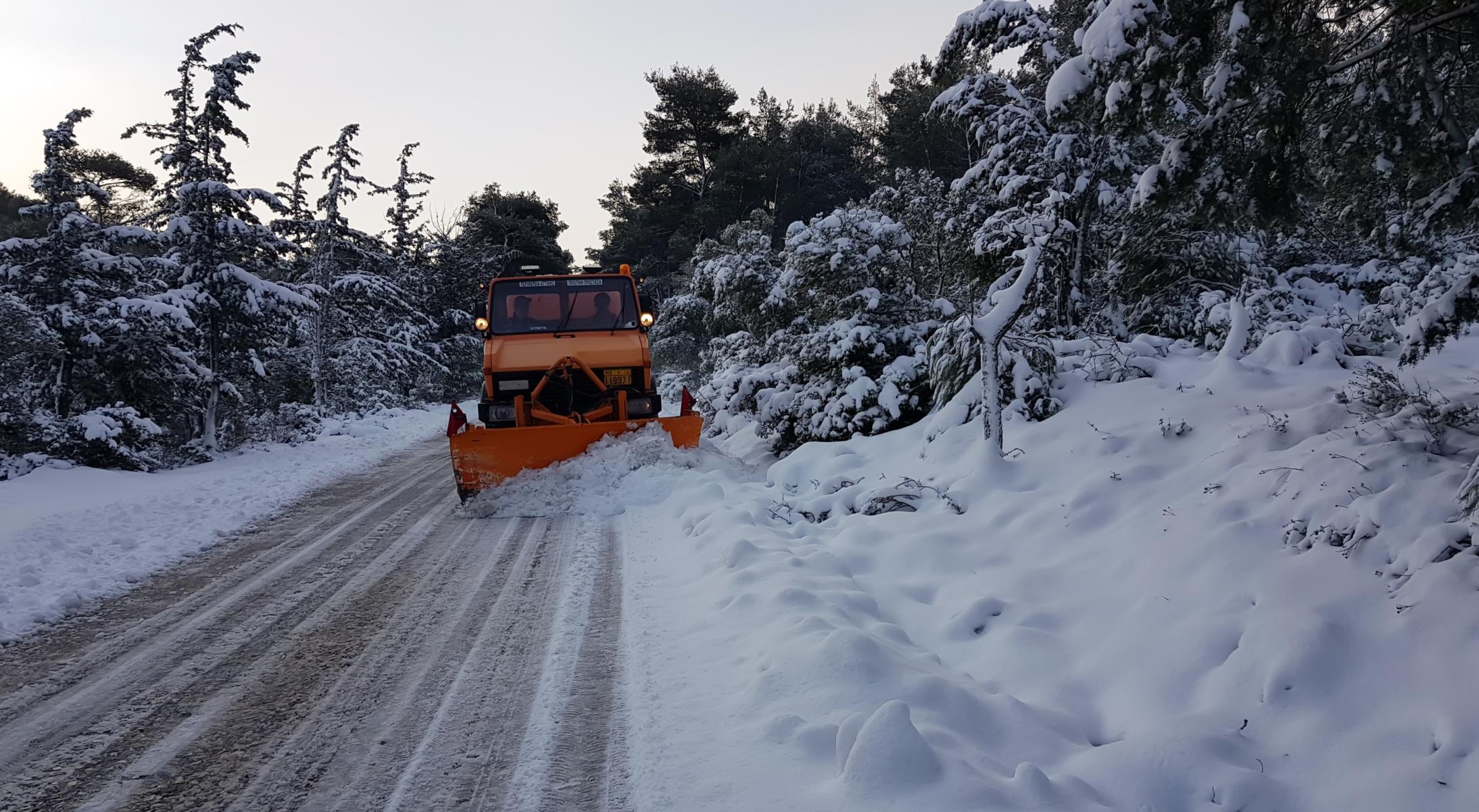 Καιρός – Κακοκαιρία Μήδεια: Που χιονίζει τώρα, Live εικόνα από όλη την Ελλάδα