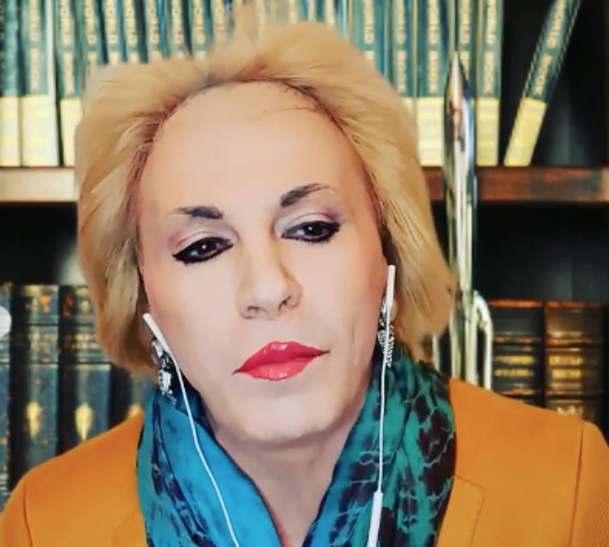 Ούτε η Ματίνα Παγώνη γλίτωσε από τον Τάκη Ζαχαράτο (video)