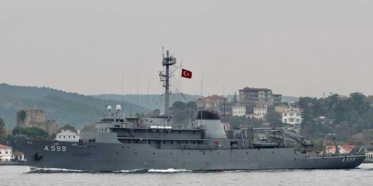 «Τσεσμέ»: Επανέρχεται στο κεντρικό Αιγαίο το τουρκικό ωκεανογραφικό πλοίο