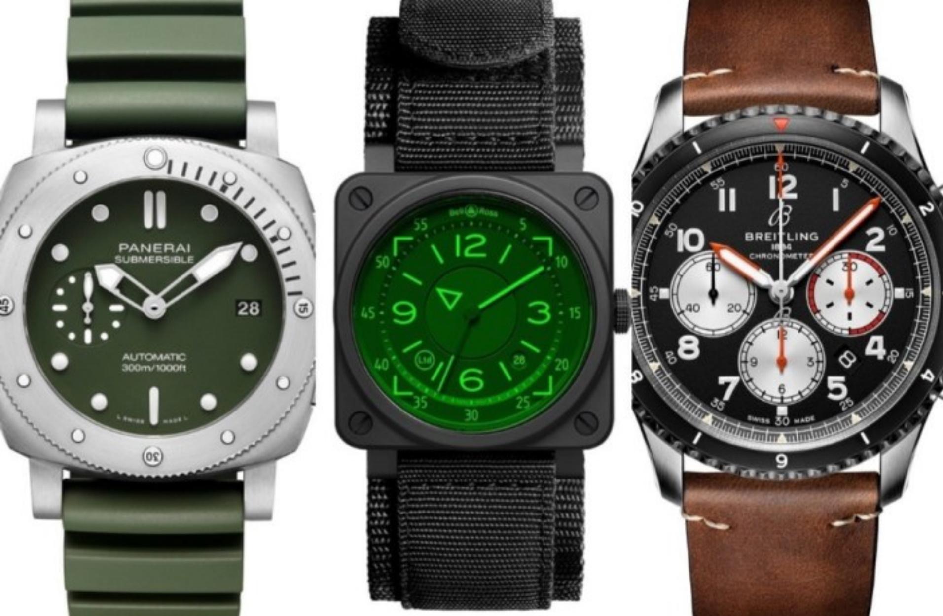 """Βρήκαμε 8 """"στρατιωτικά"""" ρολόγια που αξίζουν και την τελευταία δεκάρα"""