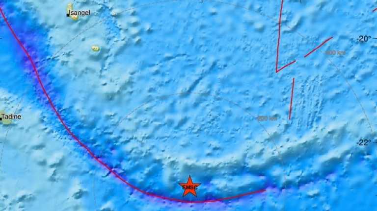 Μεγάλος σεισμός στη Νέα Καληδονία