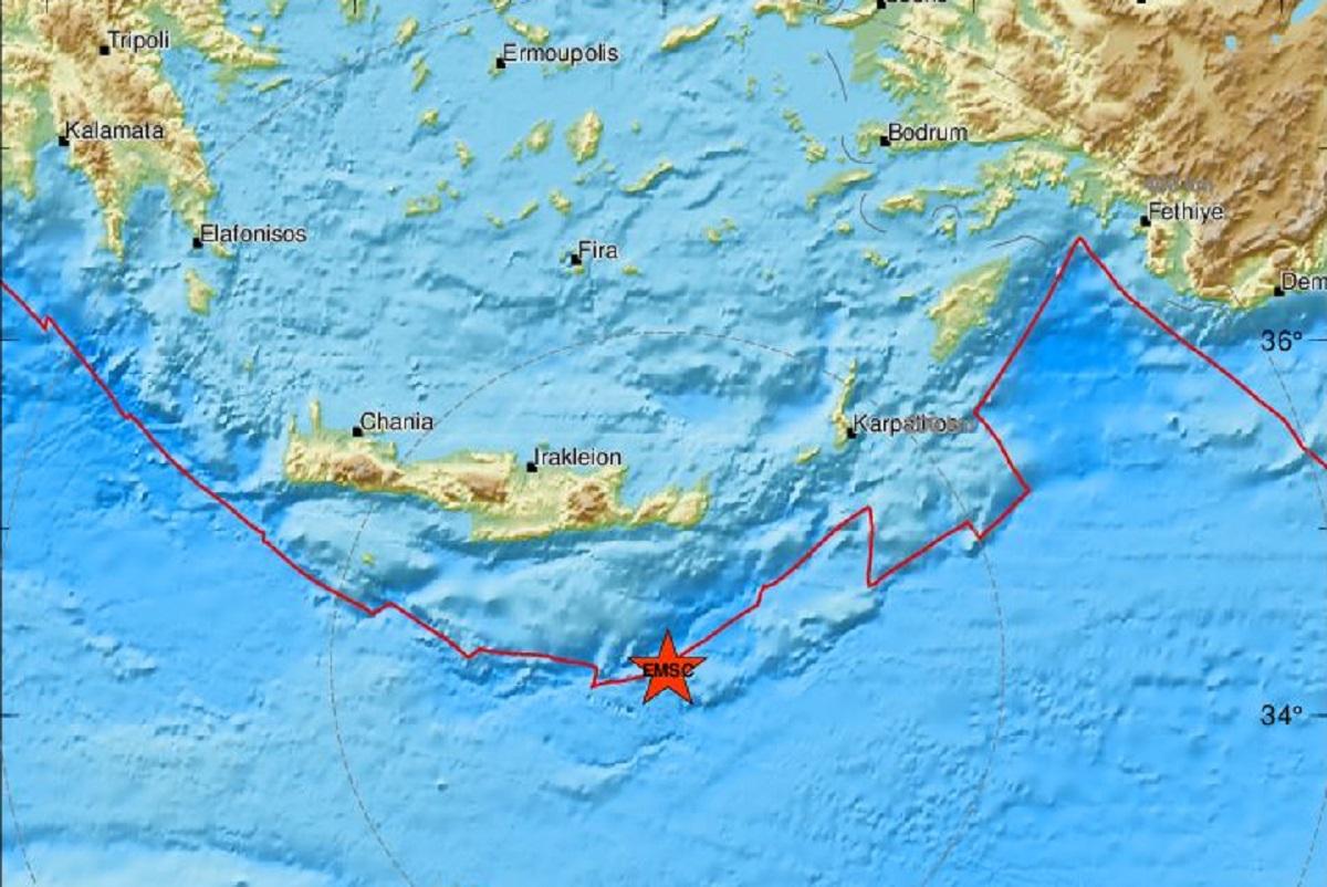Σεισμός 4,2 Ρίχτερ στην Ιεράπετρα