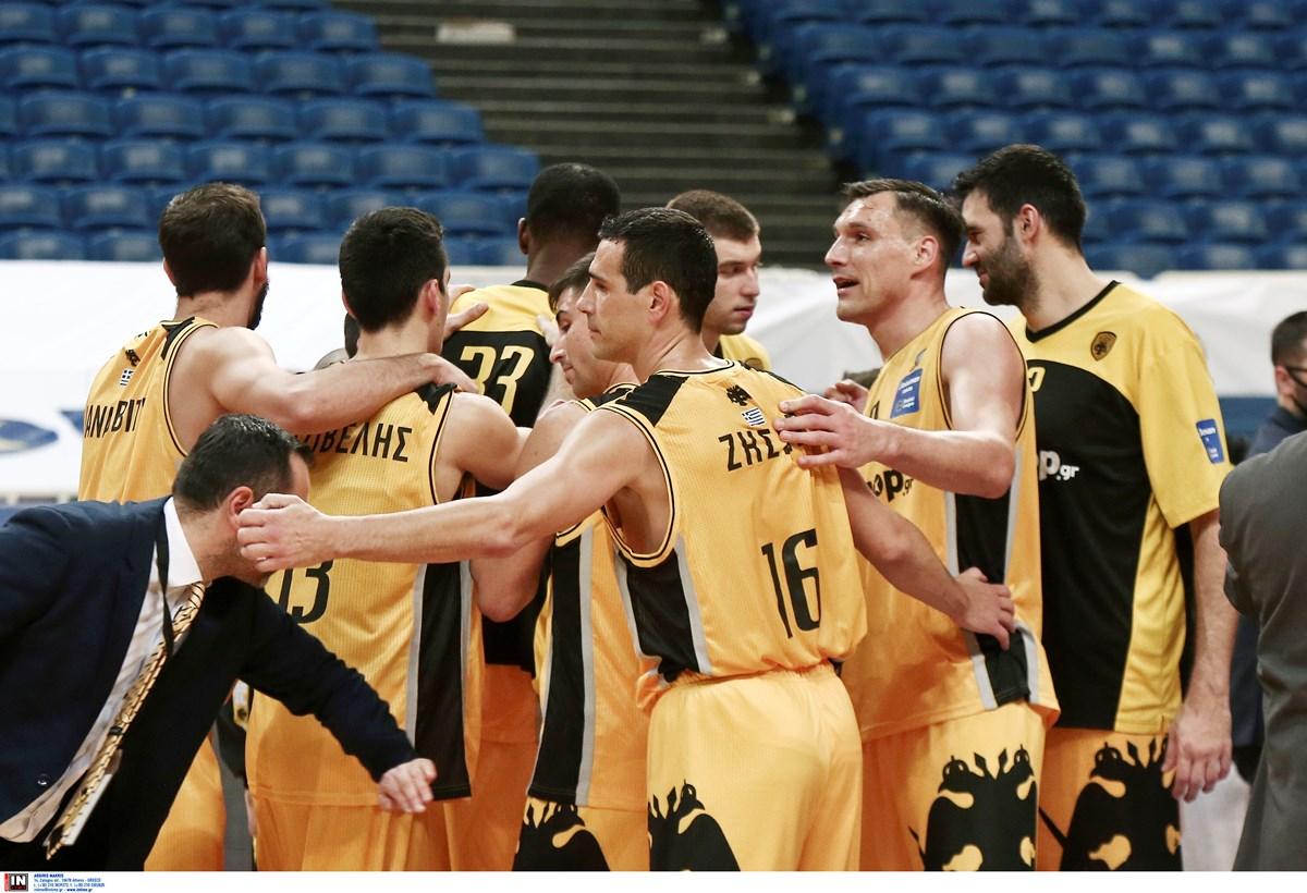 ΑΕΚ: Κλήρωση στα «μέτρα» της στους «16» του Basketball Champions League