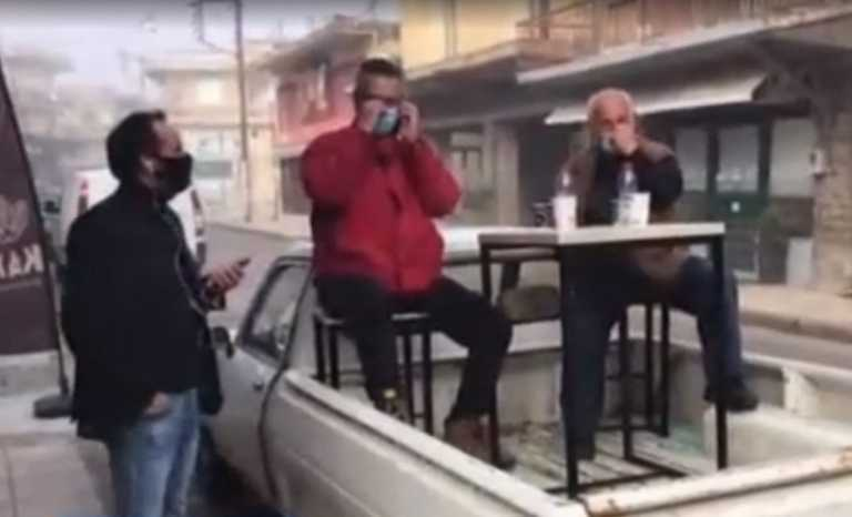 Αγρίνιο: Drink… away σε καρότσα αγροτικού – Η παρατήρηση της Ματίνας Παγώνη σε απευθείας μετάδοση (video)
