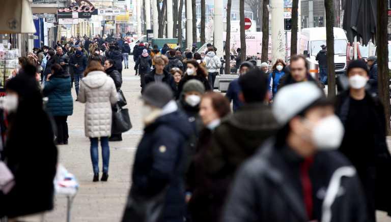 Αυστρία – Κορονοϊός: 2.093 νέα κρούσματα και 22 νεκροί τις τελευταίες 24 ώρες