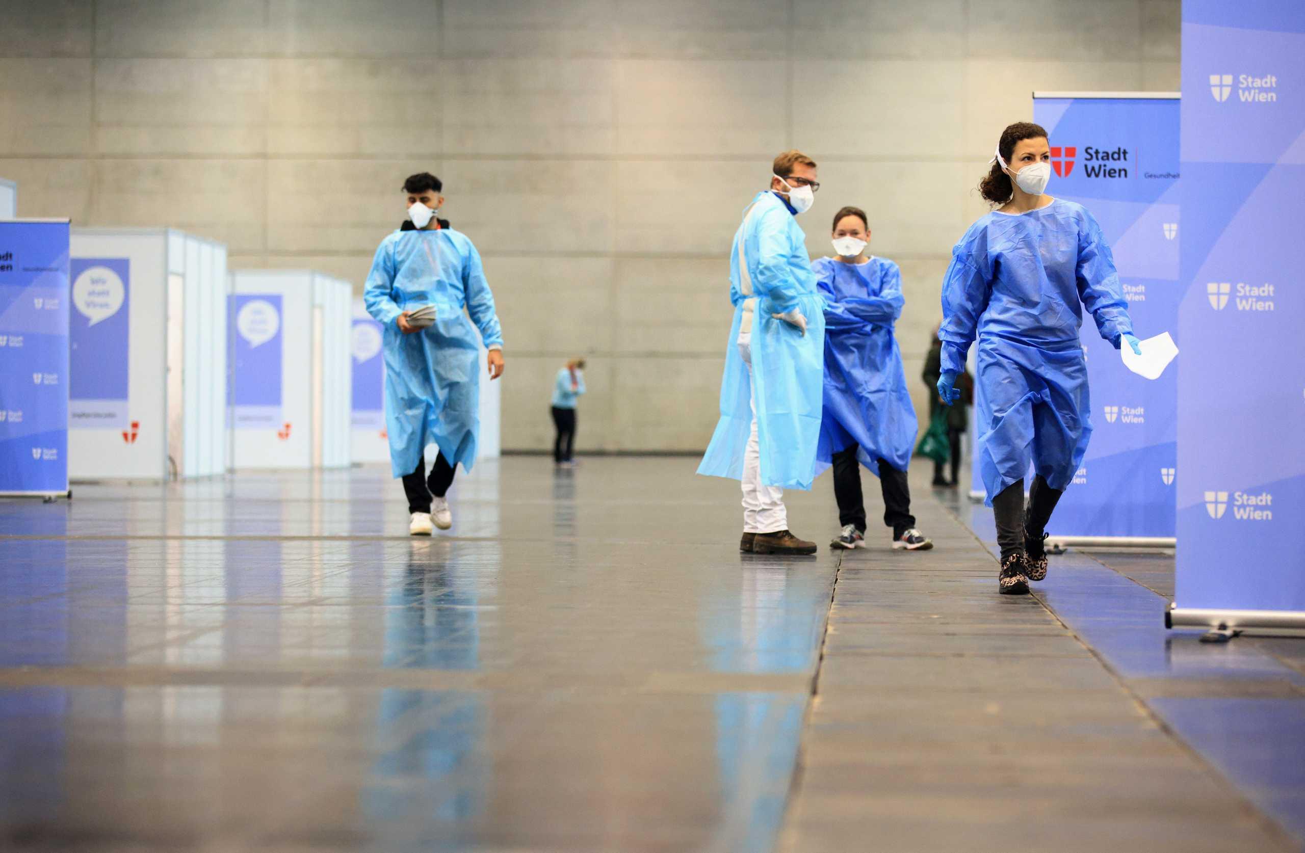 Κορονοϊός – Αυστρία: Ανεμβολίαστοι το 96% των ασθενών στις ΜΕΘ