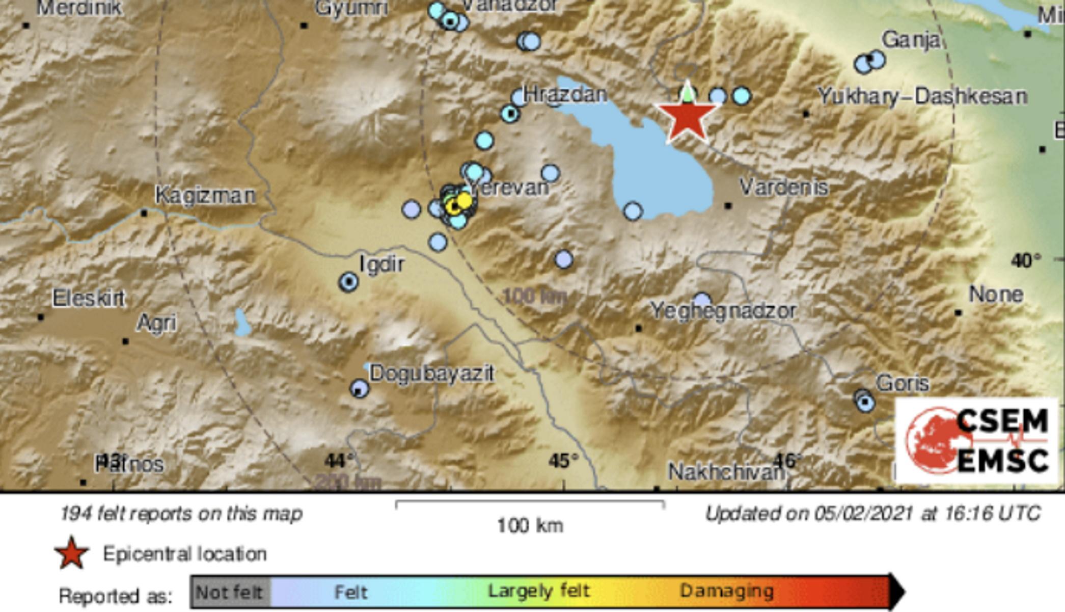Σεισμός 5,1 Ρίχτερ ταρακούνησε το Αζερμπαϊτζάν
