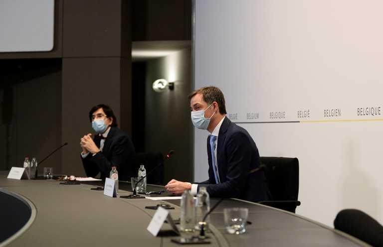 Βέλγιο – κορονοϊός: «Τα νούμερα οδήγησαν τις αρχές στη διακοπή των συζητήσεων»