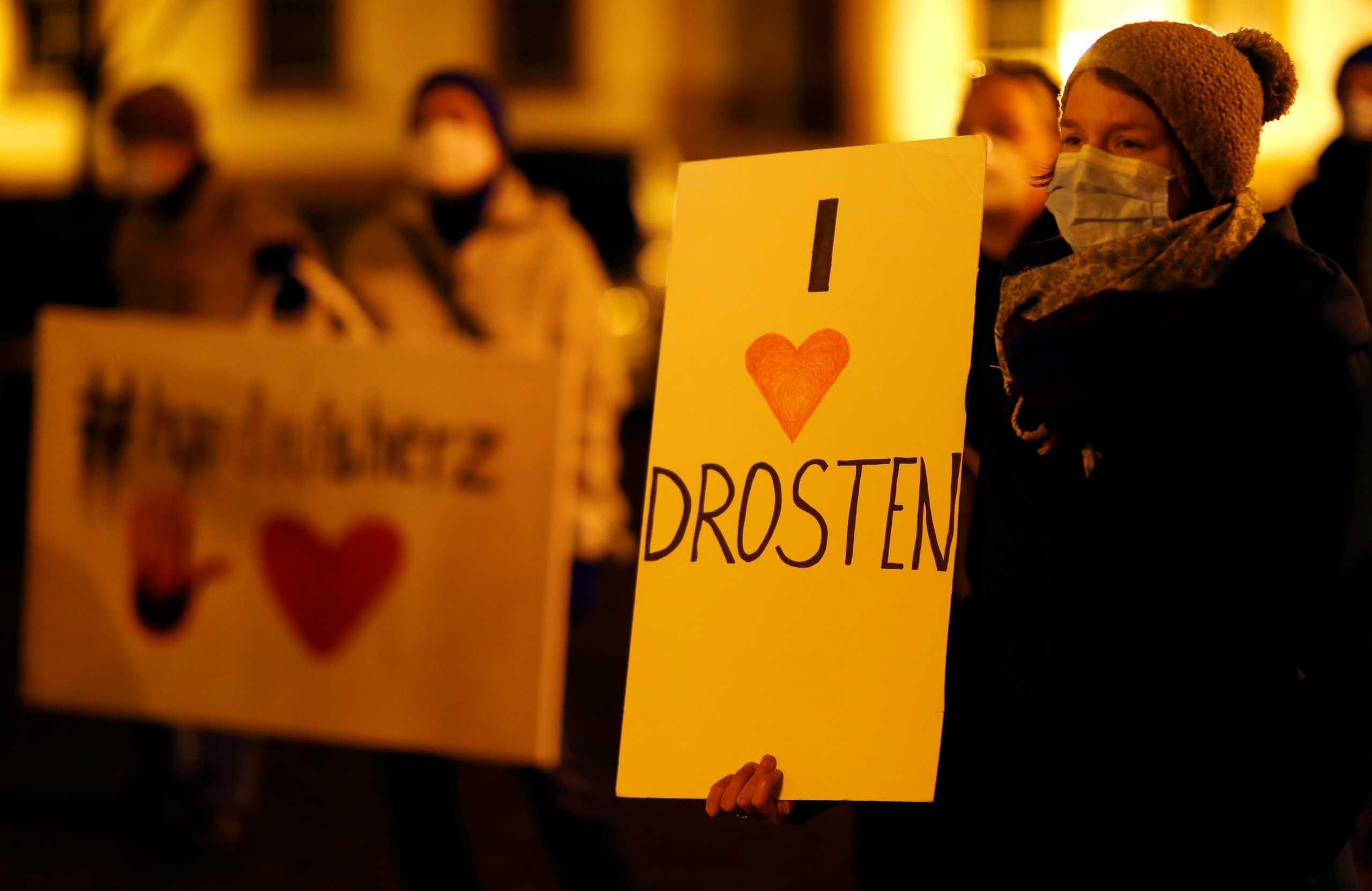 Γερμανία: Διαδηλώσεις στο Μόναχο κατά των μέτρων για τον κορονοϊό – 4.500 κρούσματα σε 24 ώρες