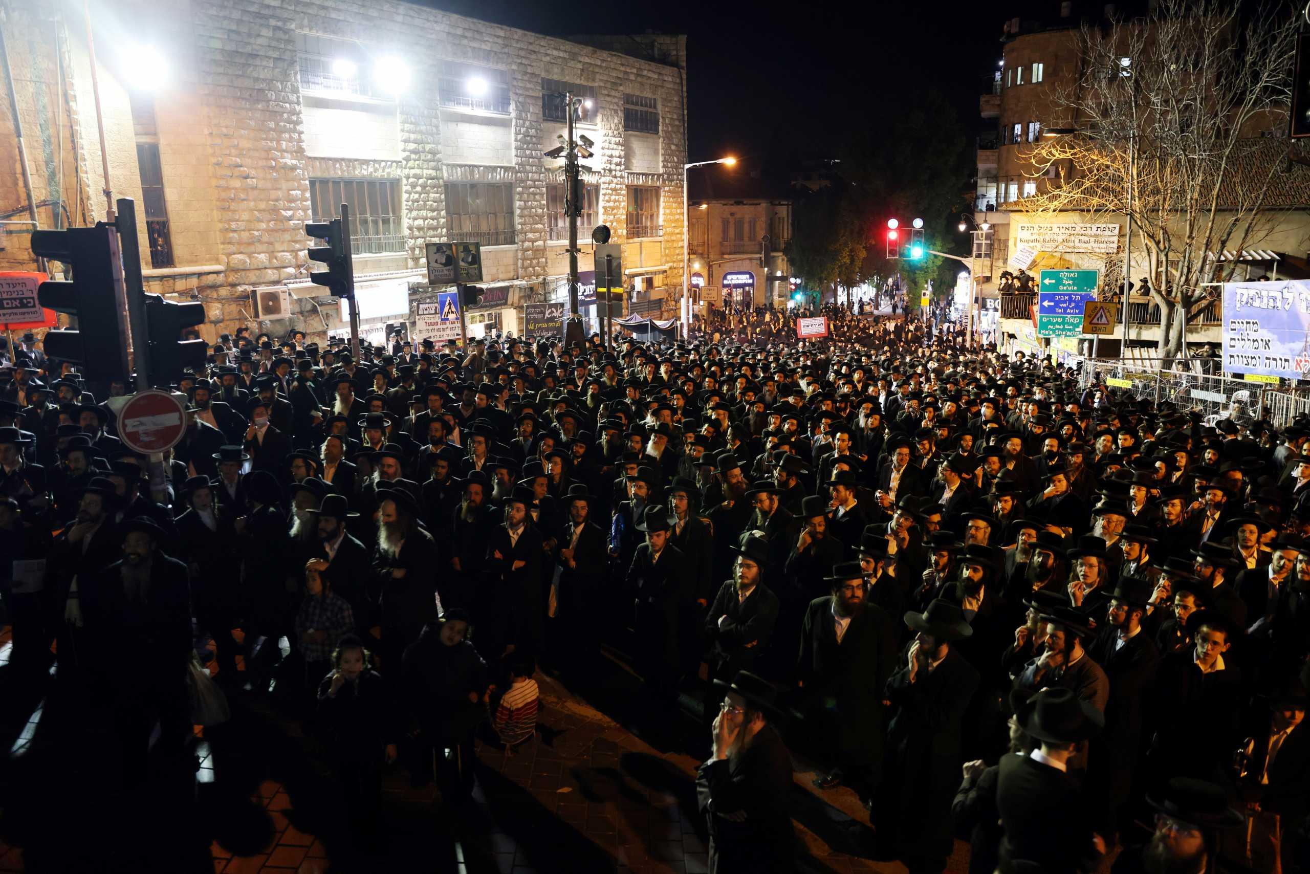 Ισραήλ: Επεισόδια και συλλήψεις σε συνοικίες υπερορθόδοξων Εβραίων – Αντιδρούν στα μέτρα για τον κορονοϊό (pics, vid)