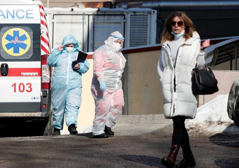 Κορονοϊός: Αύξηση κρουσμάτων σχεδόν 40% σε ένα 24ωρο στην Ουκρανία
