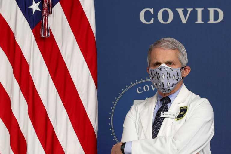 Κορονοϊός – Φάουτσι: Θα έκανα το εμβόλιο της Johnson & Johnson