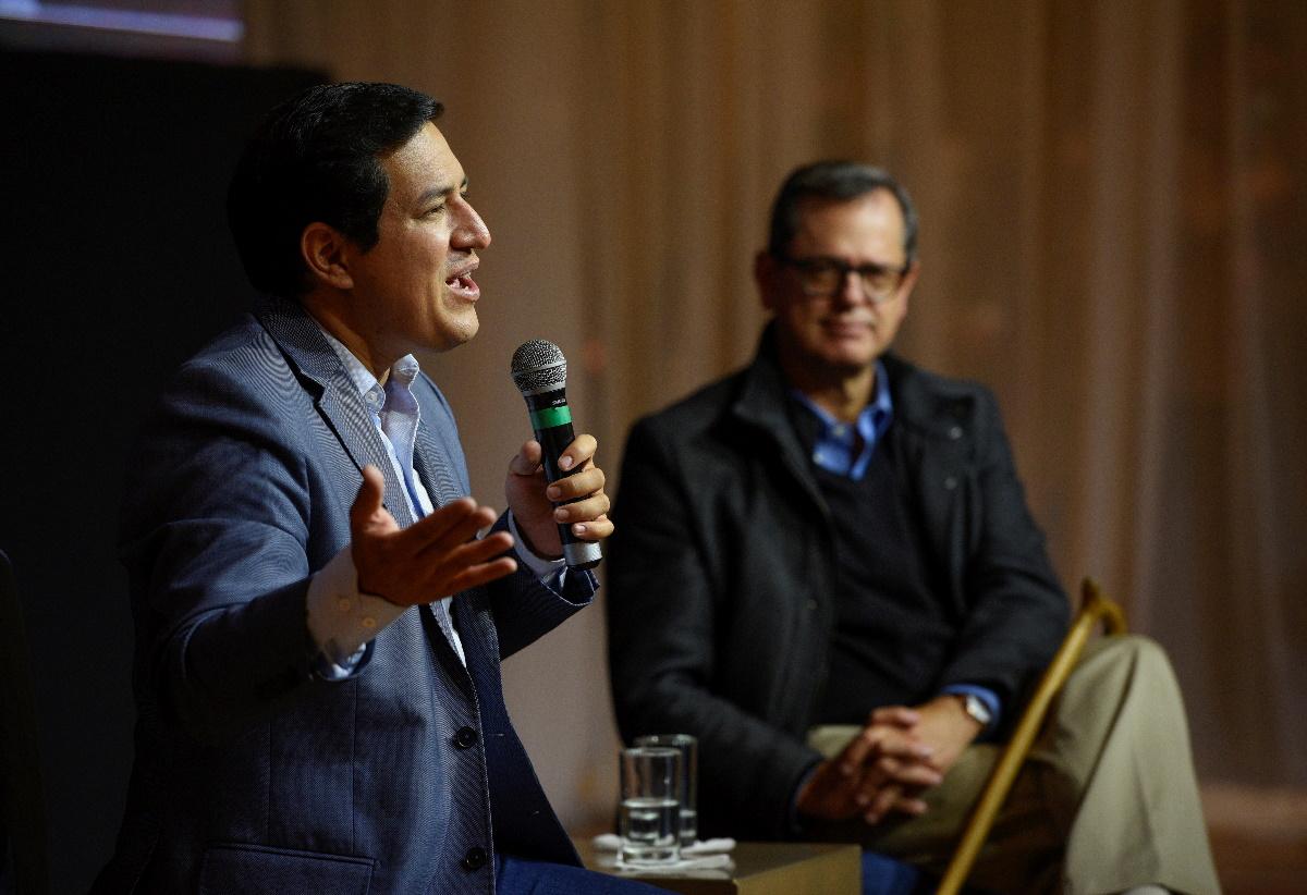 Ισημερινός – Προεδρικές εκλογές: Ο Αντρές Αράους αντιμέτωπος με τον Γιάκου Πέρες στον 2ο γύρο