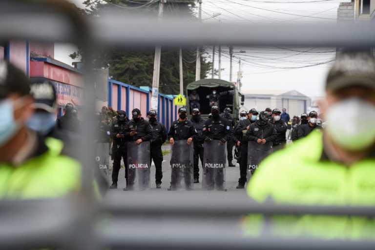 Μακελειό στον Ισημερινό: Τουλάχιστον 50 κρατούμενοι σκοτώθηκαν σε εξεγέρσεις