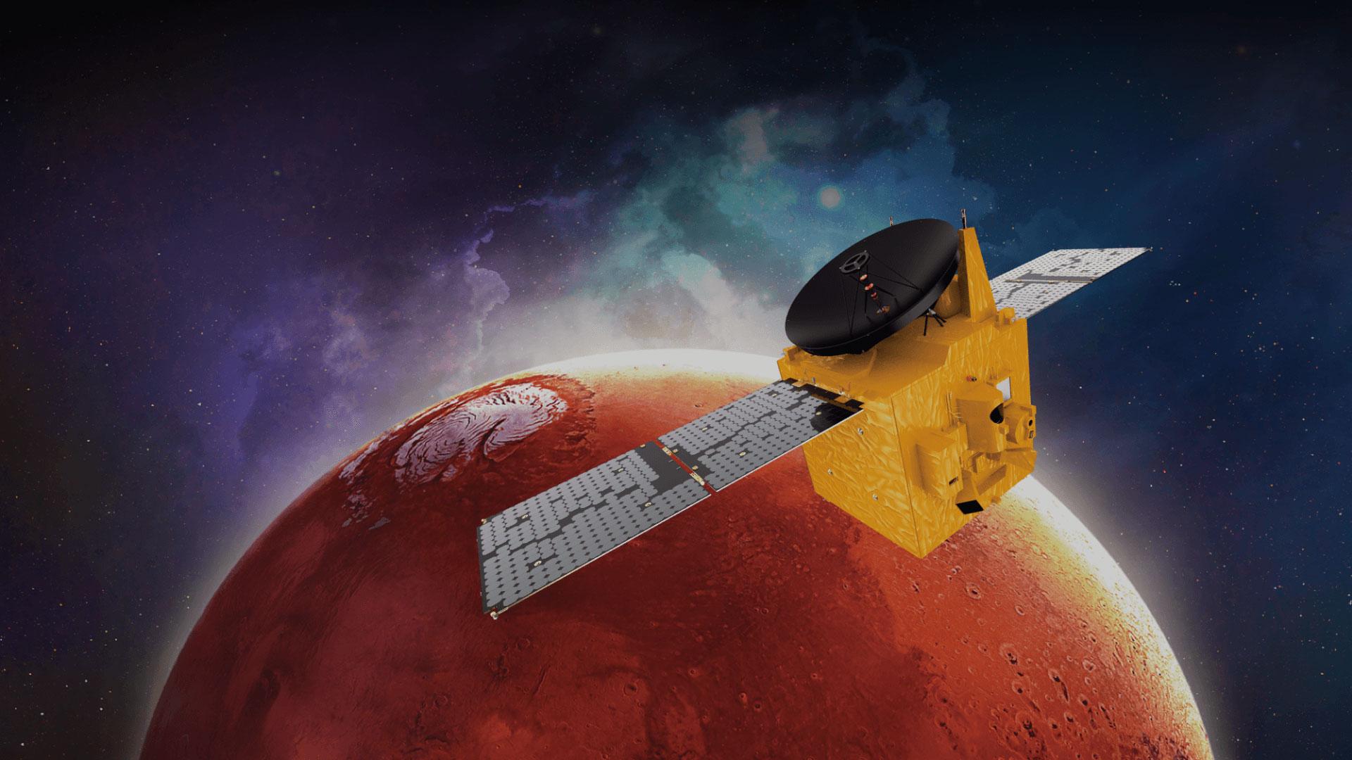 Χαμός από διαστημικά σκάφη στον Άρη