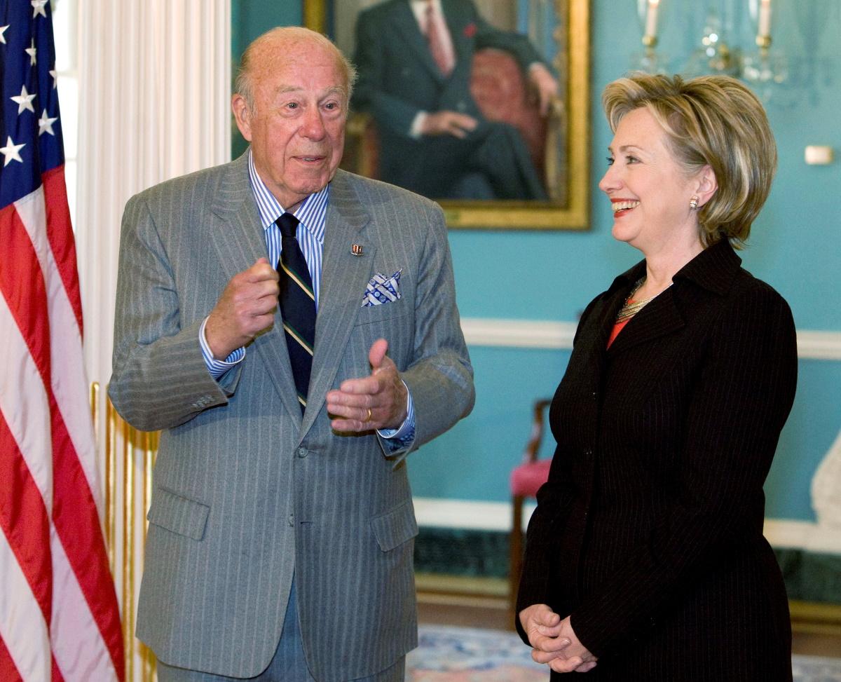 ΗΠΑ: Πέθανε ο Τζορτζ Σουλτς, πρώην υπουργός Εξωτερικών του Ρίγκαν στο τέλος του Ψυχρού Πολέμου
