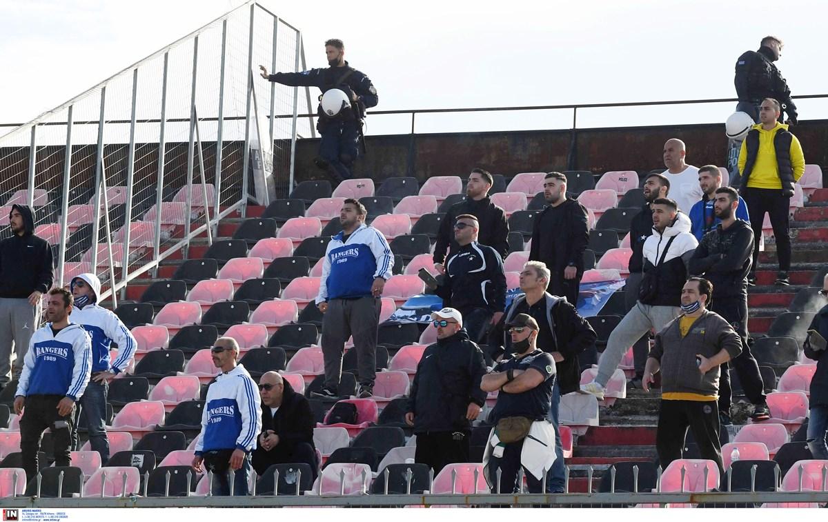 Έστειλαν «Μετακίνηση 6» για Πάτρα; Οπαδοί του Ιωνικού στο γήπεδο της Παναχαϊκής παρά την απαγόρευση (pics)