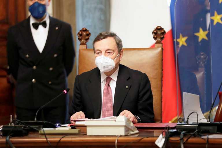 Ιταλία: Ποιες είναι οι προτεραιότητες της κυβέρνησης Ντράγκι – Τι είπε για την Ελλάδα