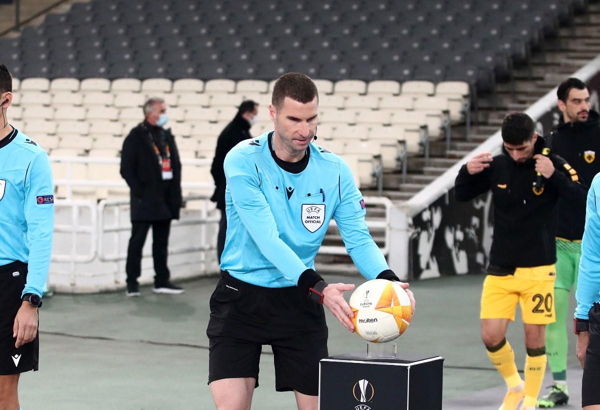 Παναθηναϊκός – ΑΕΚ: Βούλγαρος διαιτητής στο ντέρμπι, ξένος ρέφερι στο Βόλος – Ολυμπιακός