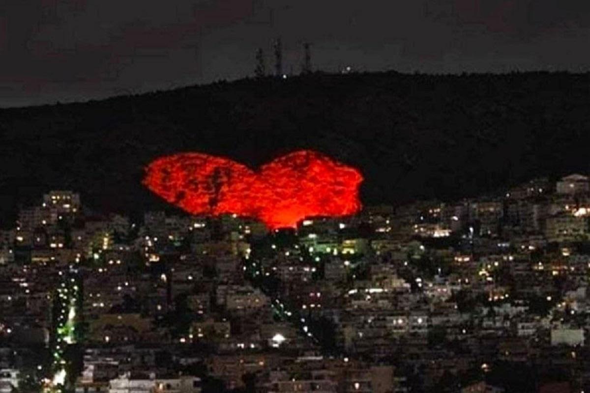 Αγίου Βαλεντίνου: Ο Δήμος Χαϊδαρίου θα φωτίσει τη μεγαλύτερη καρδιά της Ευρώπης