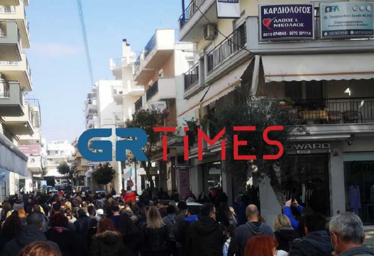 Lockdown – Πορεία διαμαρτυρίας στον Εύοσμο από κατοίκους και φορείς (pic, video)