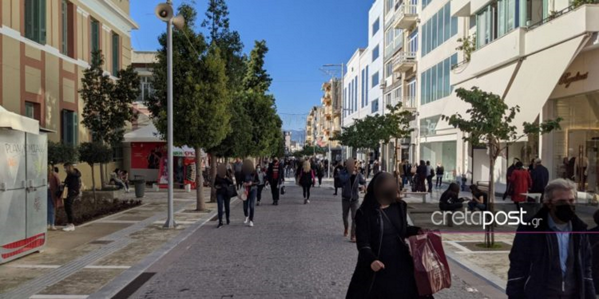 Κρήτη: «Βροχή» τα πρόστιμα για μετακινήσεις, μάσκες, λειτουργία καταστημάτων – 41.000 ευρώ οι «λυπητερές»